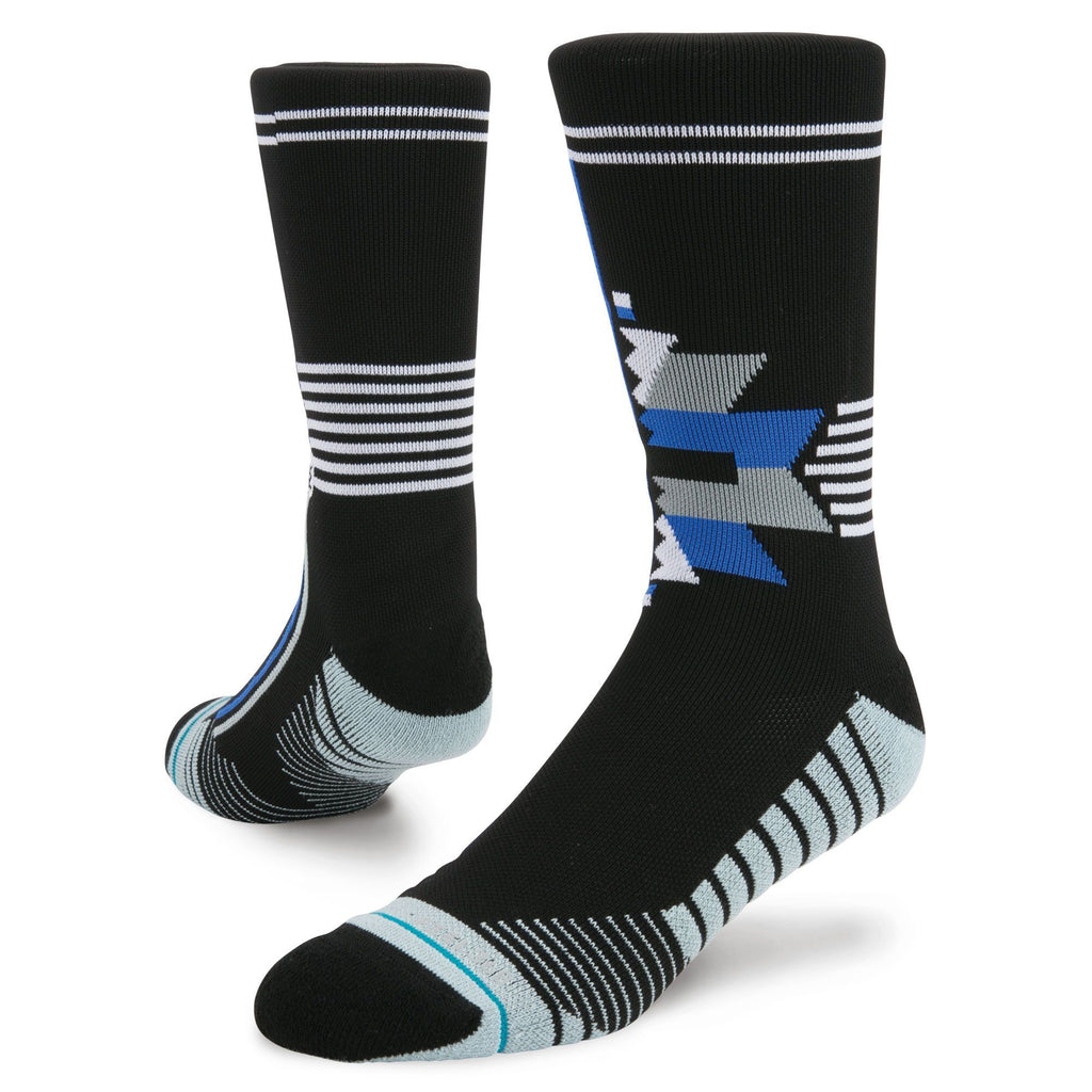 Black Training Forces Crew Socks
