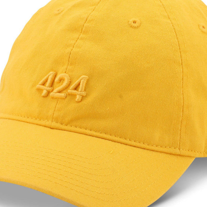 Yellow 424 Cap