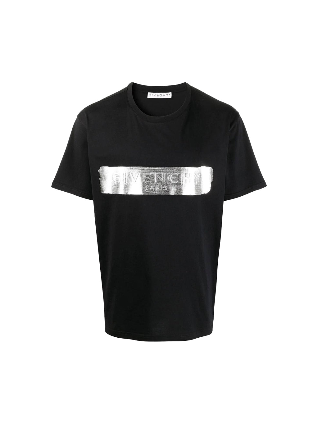 Black Metallic Logo T-Shirt