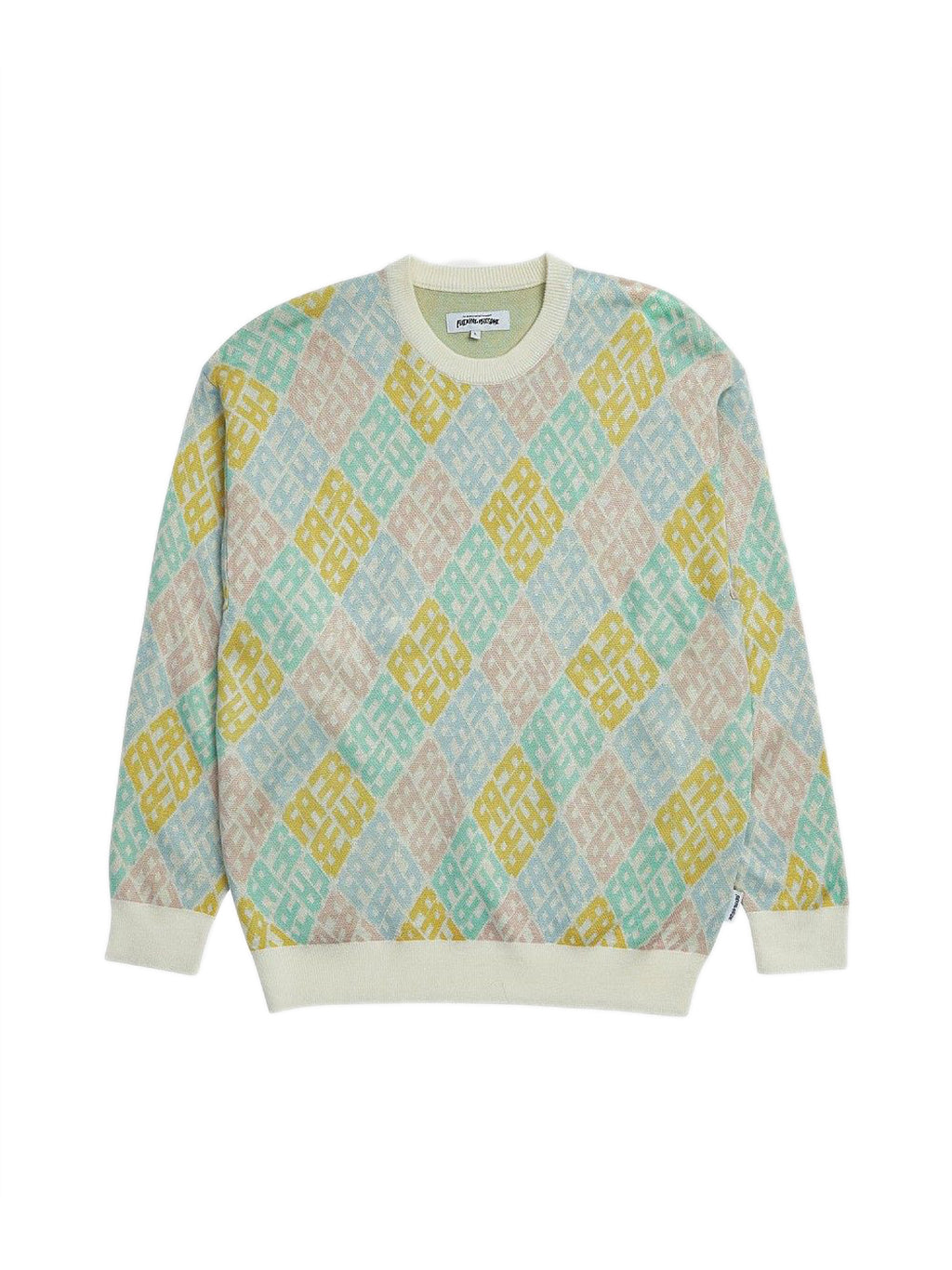 Multi Monogram Crewneck Sweater