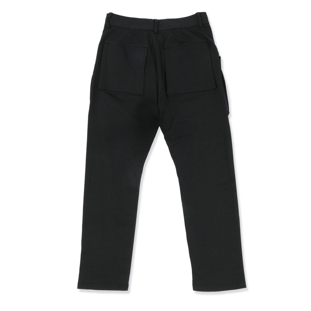 Black Terry Trousers