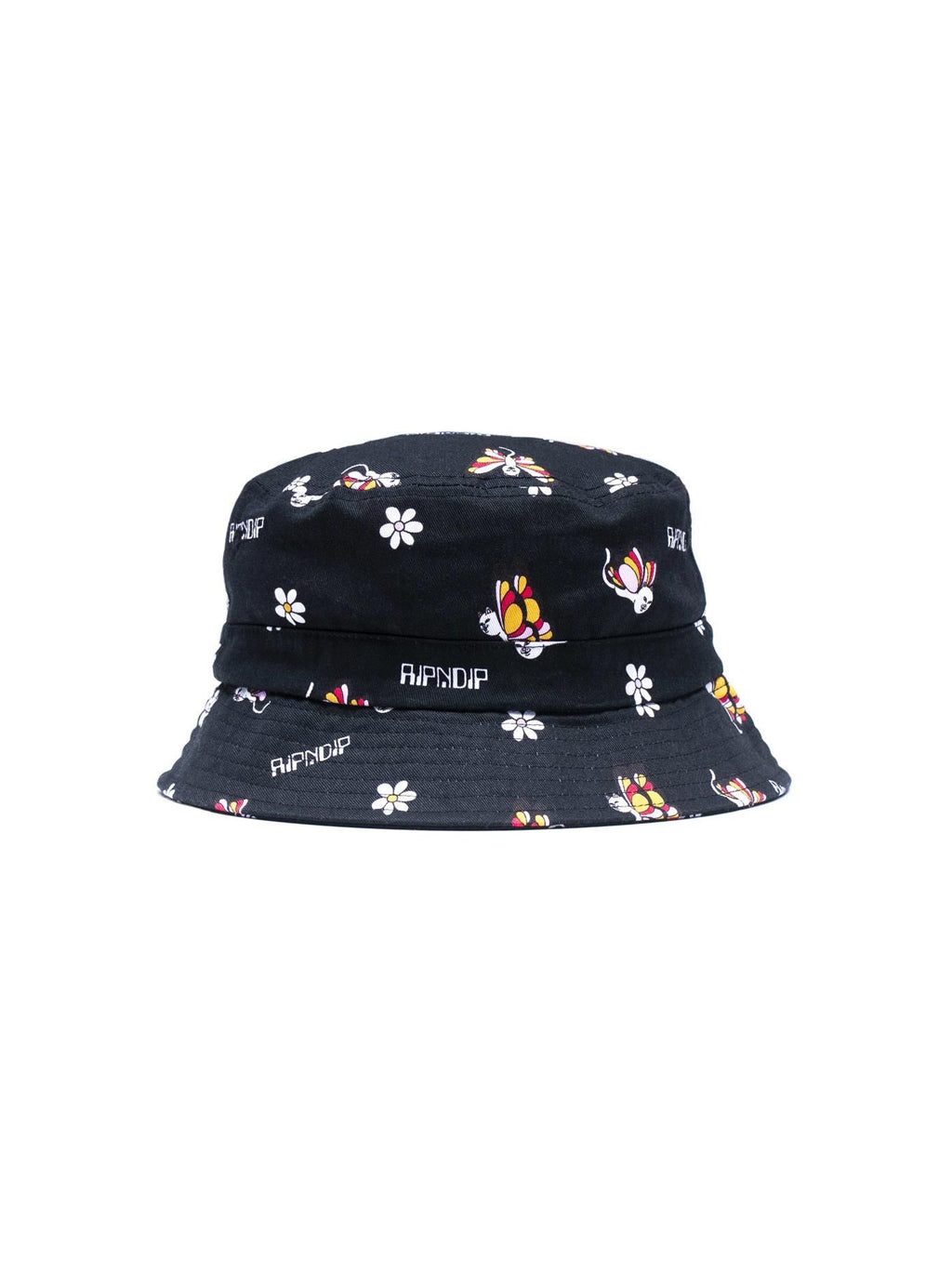 Black Butterfly Bucket Hat