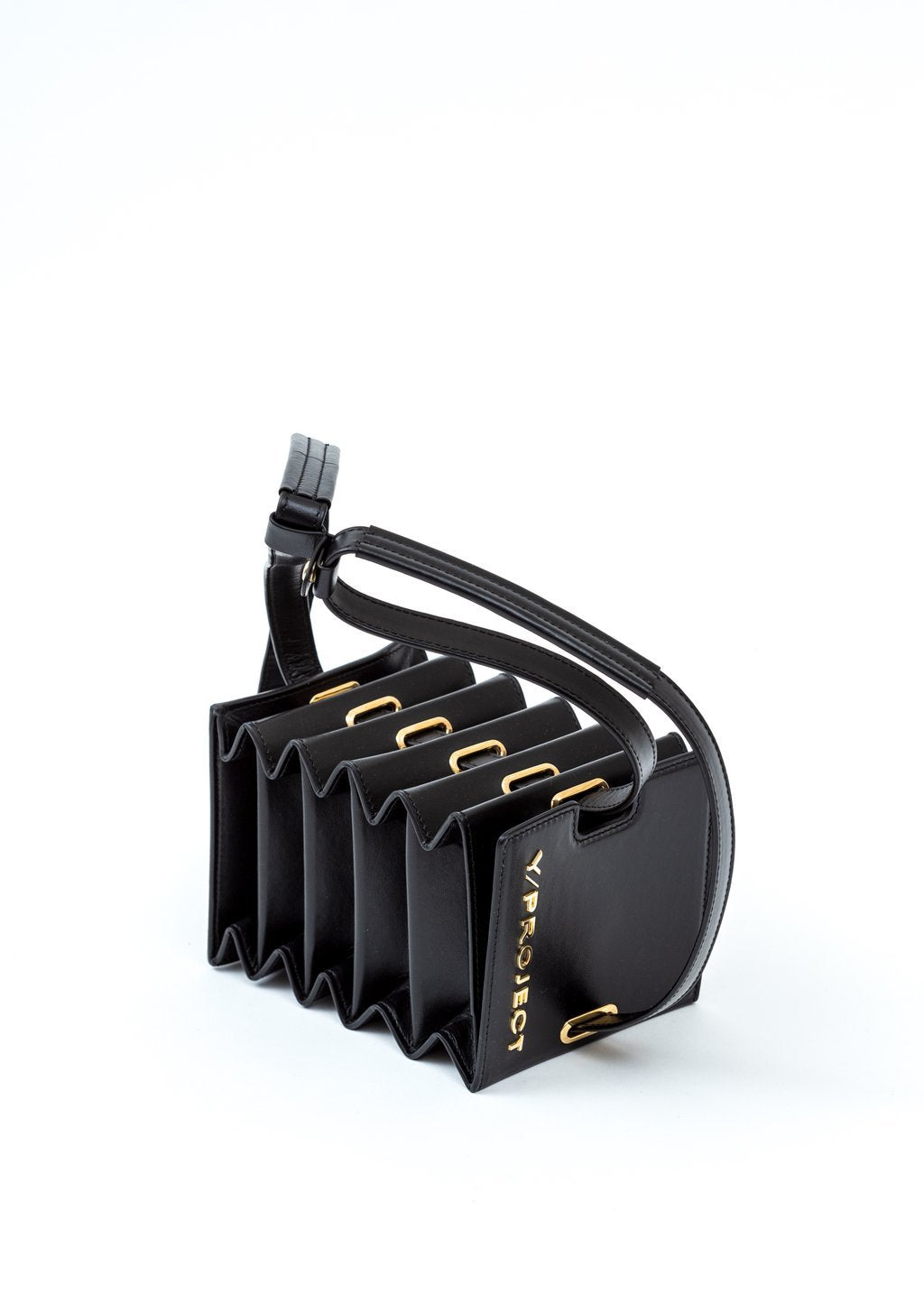 Black Mini Accordion Bag