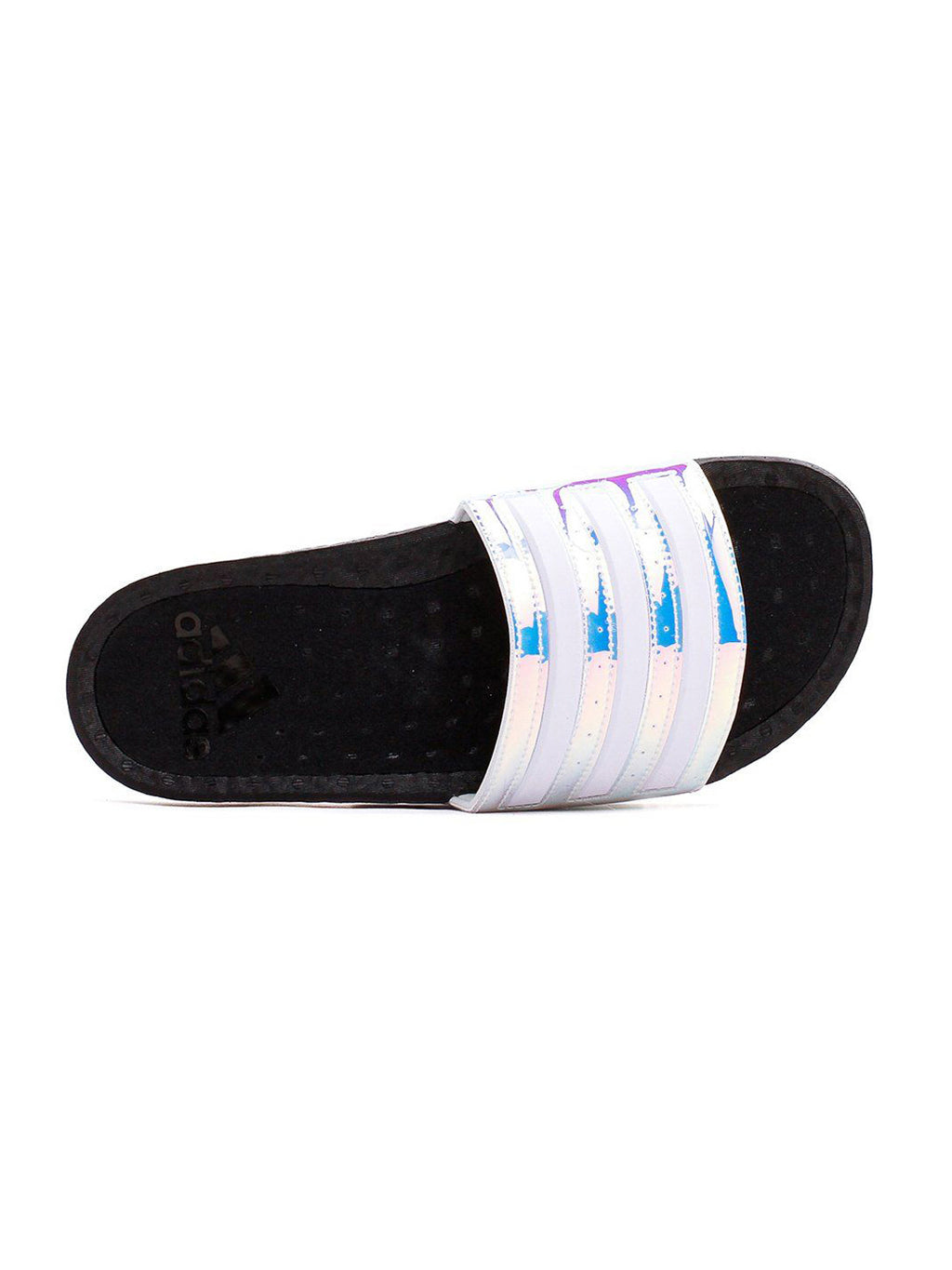 Black & White Adliette Boost Slides