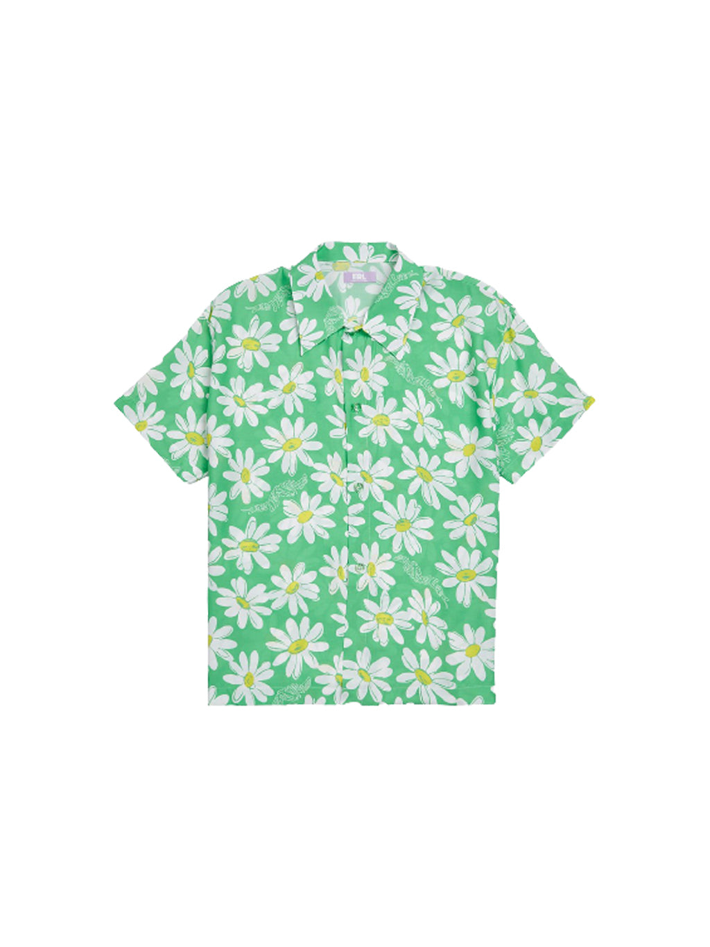 Green Daisy Shirt