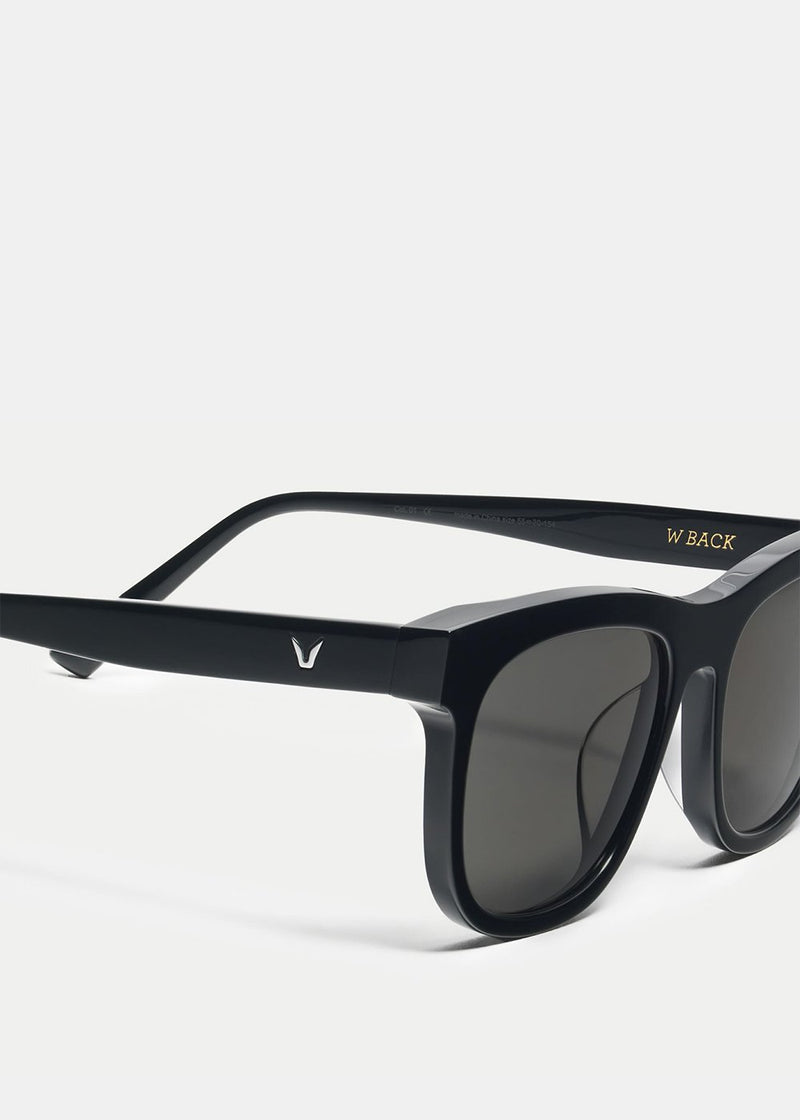 Black W Back 01 Sunglasses