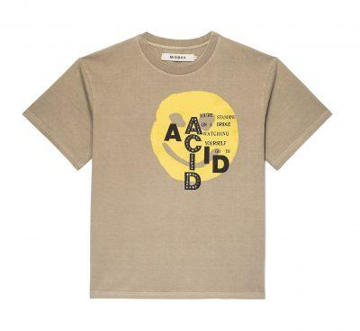 Beige Liquid T-Shirt