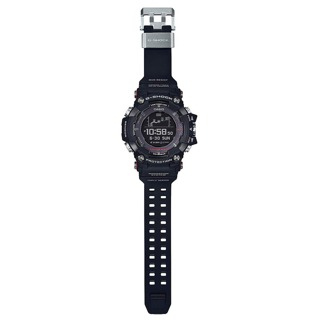Black G-Shock Master of G Rangeman Triple Sensor GPRB1000-1 Watch