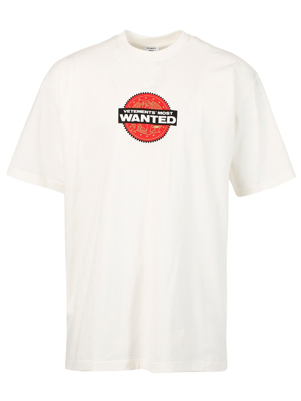 White Most Wanted T-Shirt