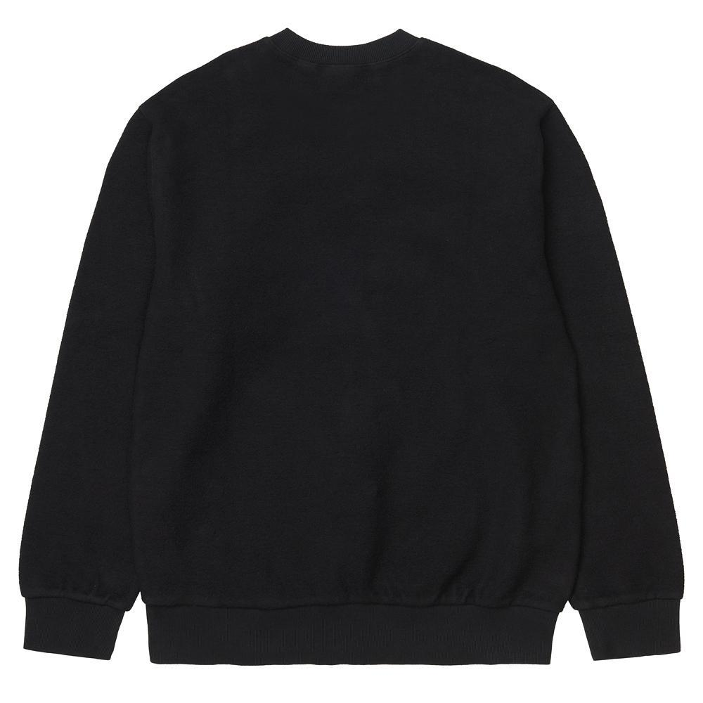 Black Contra Sweater