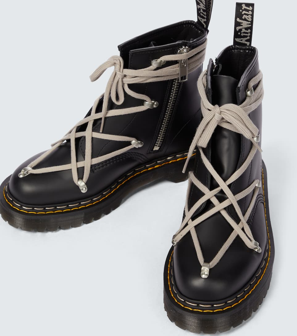 Black Bex Sole Lace Up Boots