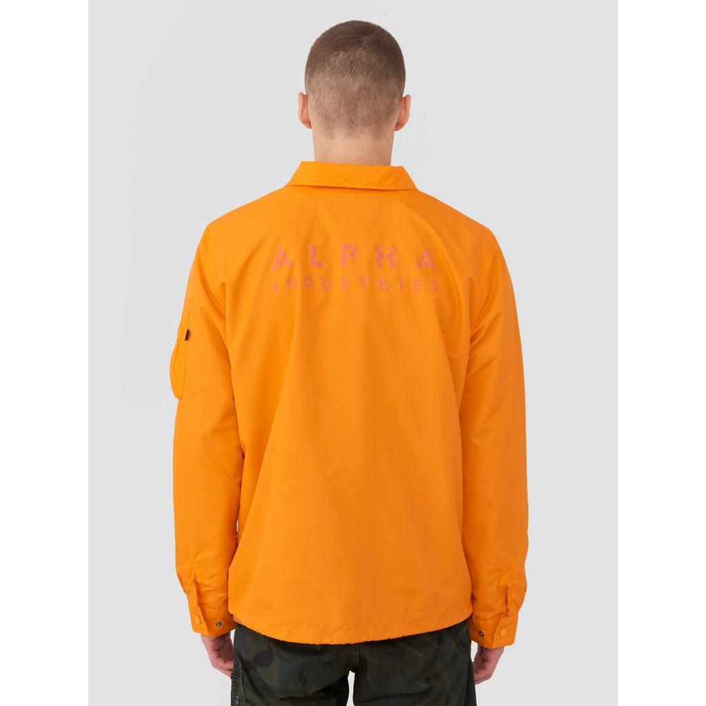 Orange Lightweight Coaches Jacket
