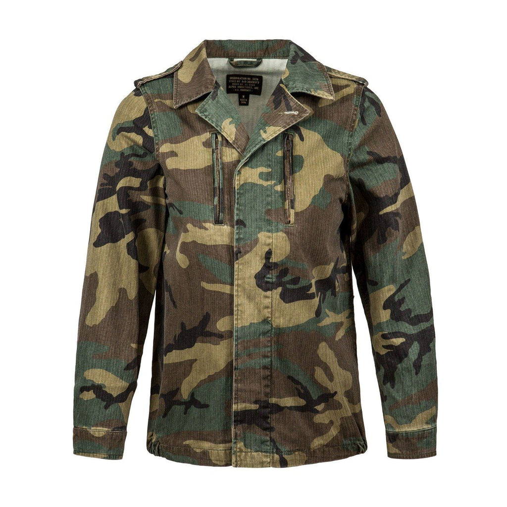 Camo F-2 French Field Coat