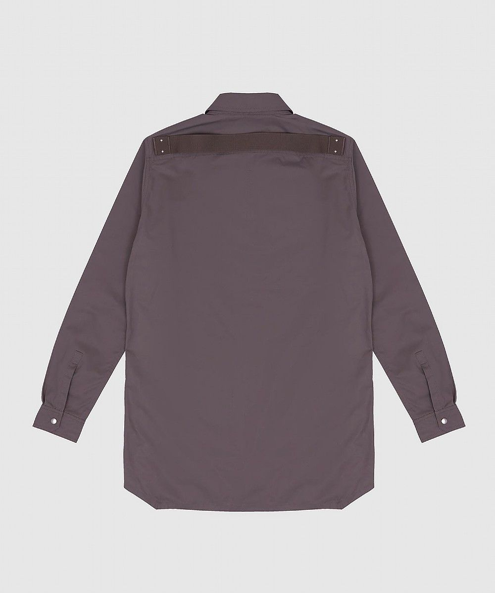 Grey Long Sleeve Overshirt