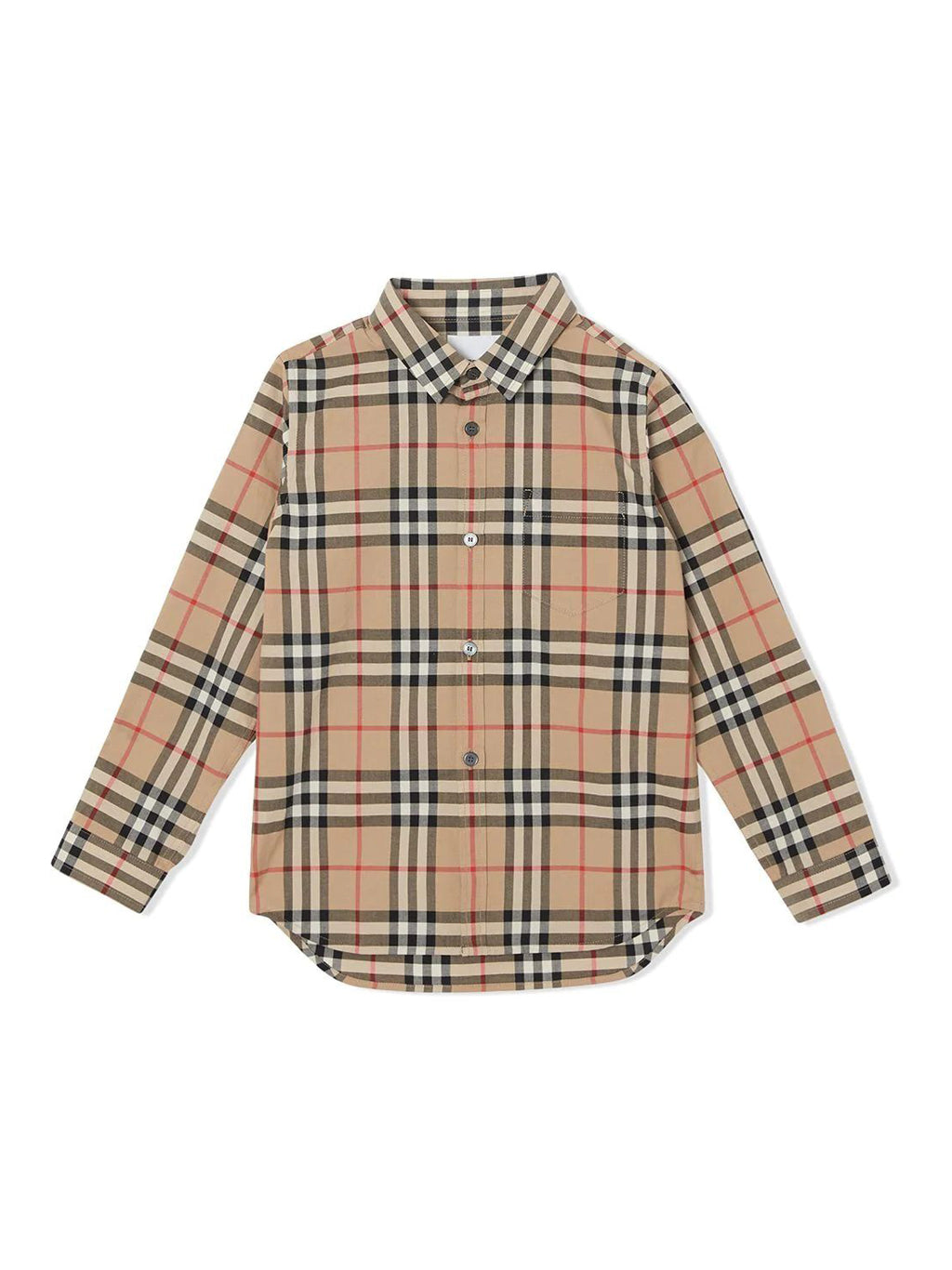 Beige Kids Archive Button-Up Shirt