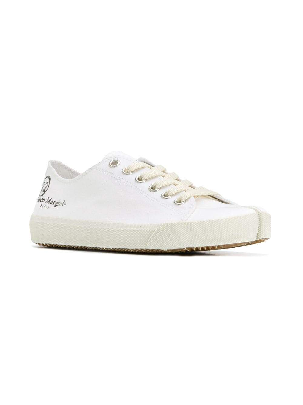 White Tabi Sneakers