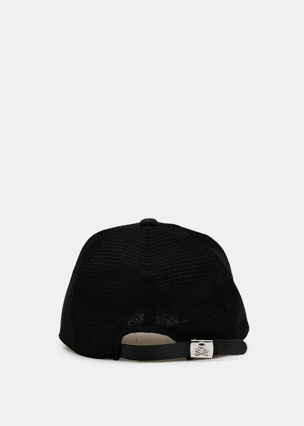 Black Embroidered Baseball Cap