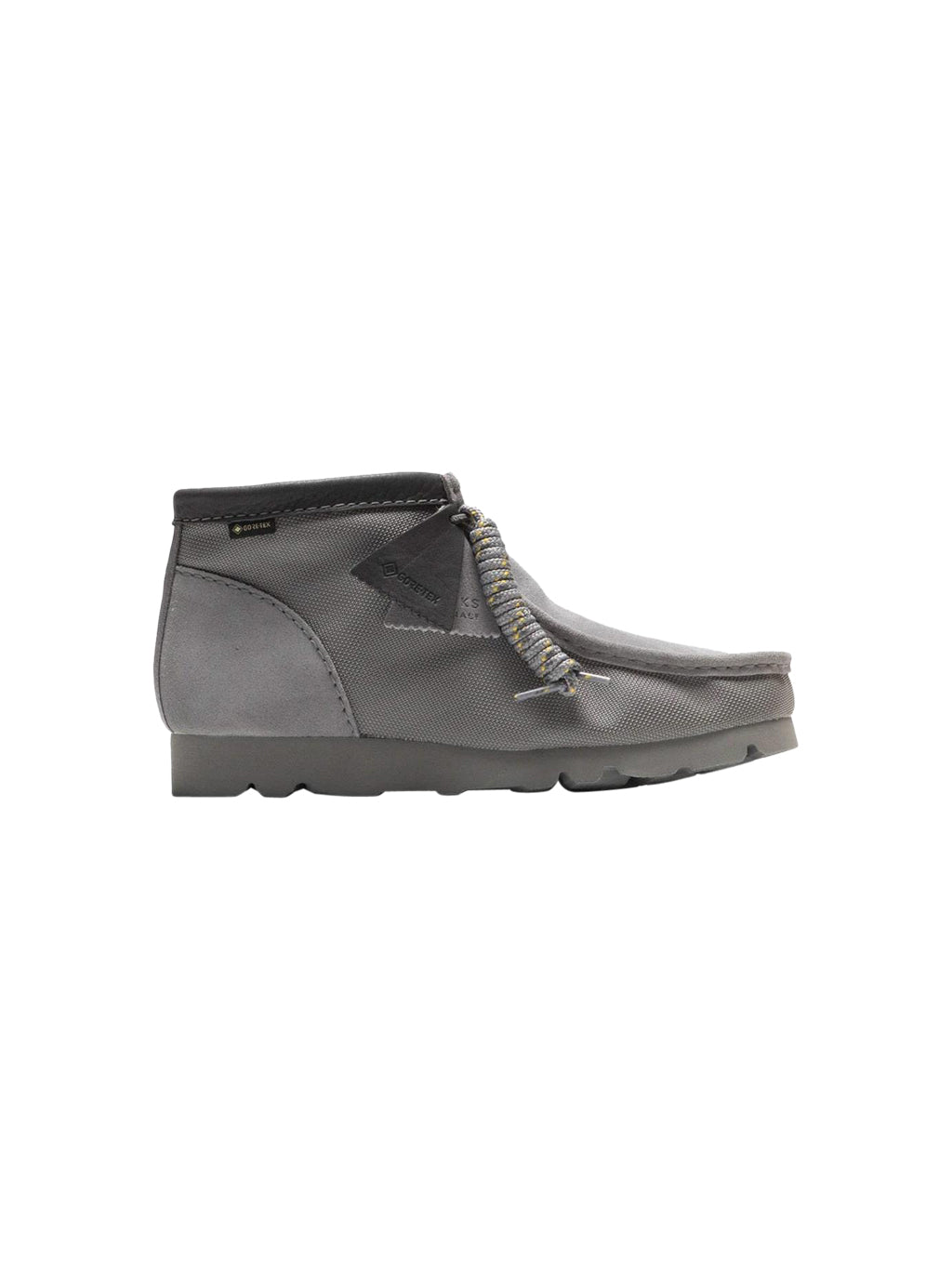 Light Grey Gore-Tex Wallabee Boots