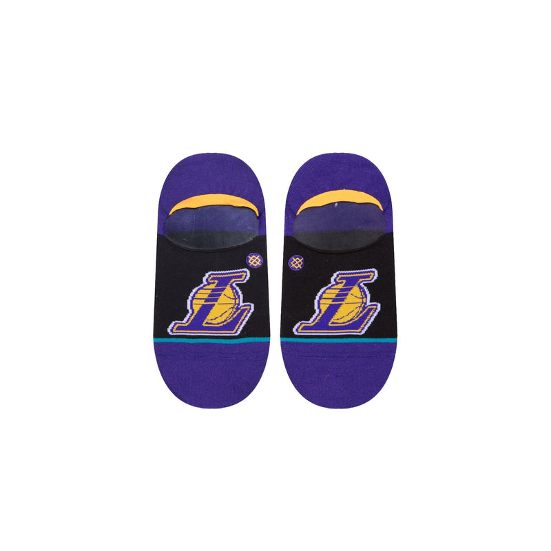 Multi NBA LA Lakers Invisible Socks