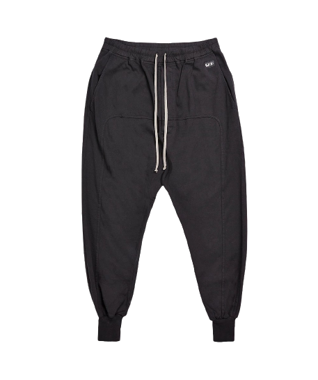 Black Prisoner Drawstring Sweatpants