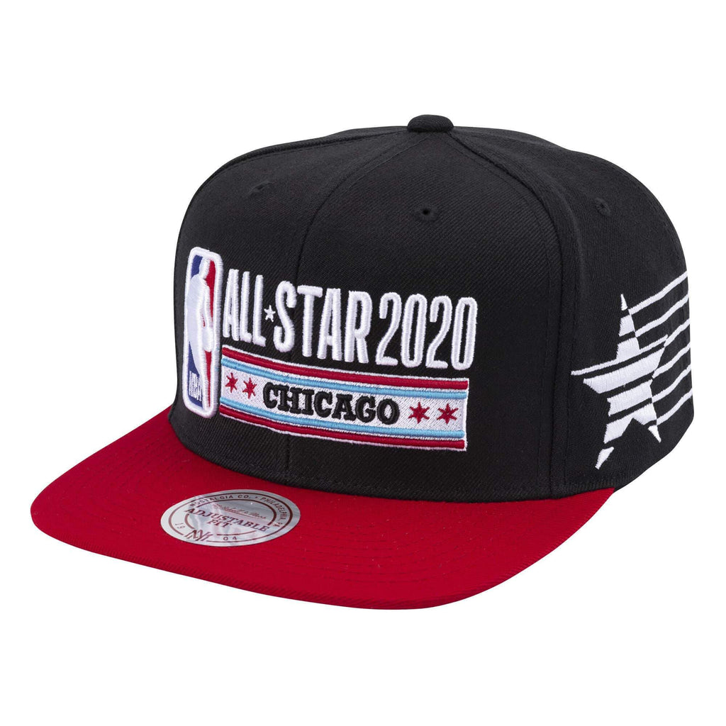Black NBA All-Stars Game 2020 Snapback
