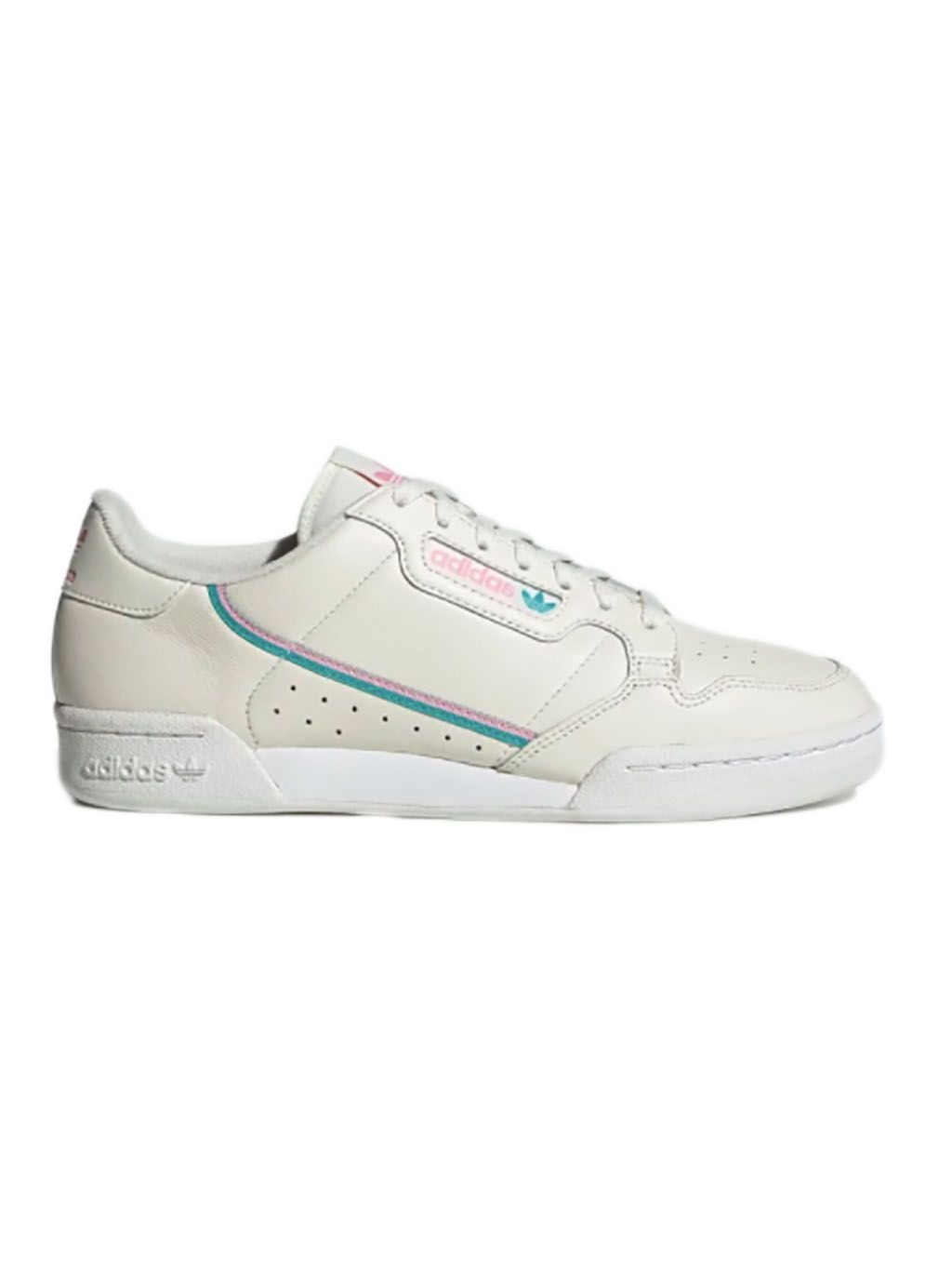 White Continental 80 Sneakers