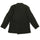 Black Chaos Embroidery Linen Tailored Jacket thumbnail 2