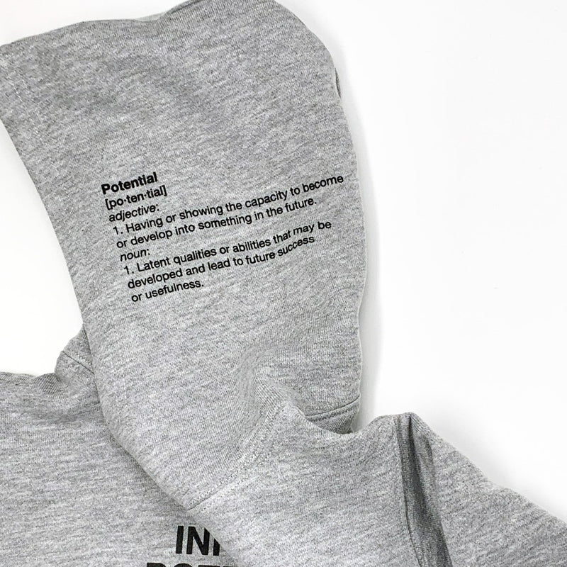 Heather Infinite Potential Hoodie