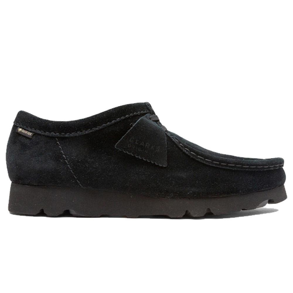 Black Wallabee Boot Gore-Tex Moccasins