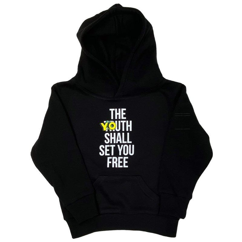 Black The Youth Hoodie