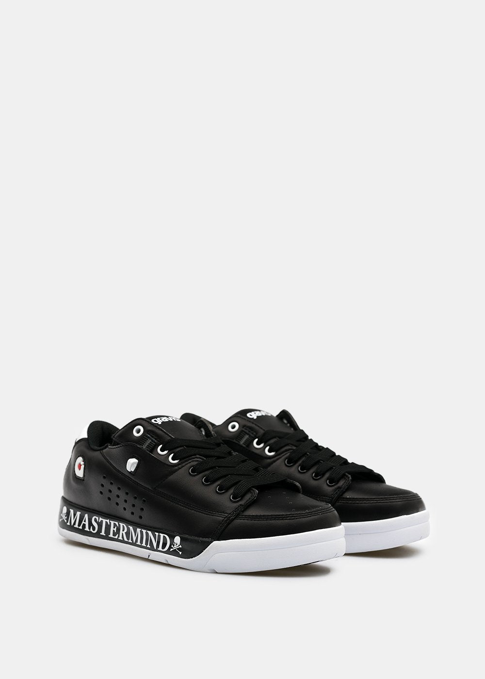 Black & White Gravis Tarmac Sneakers
