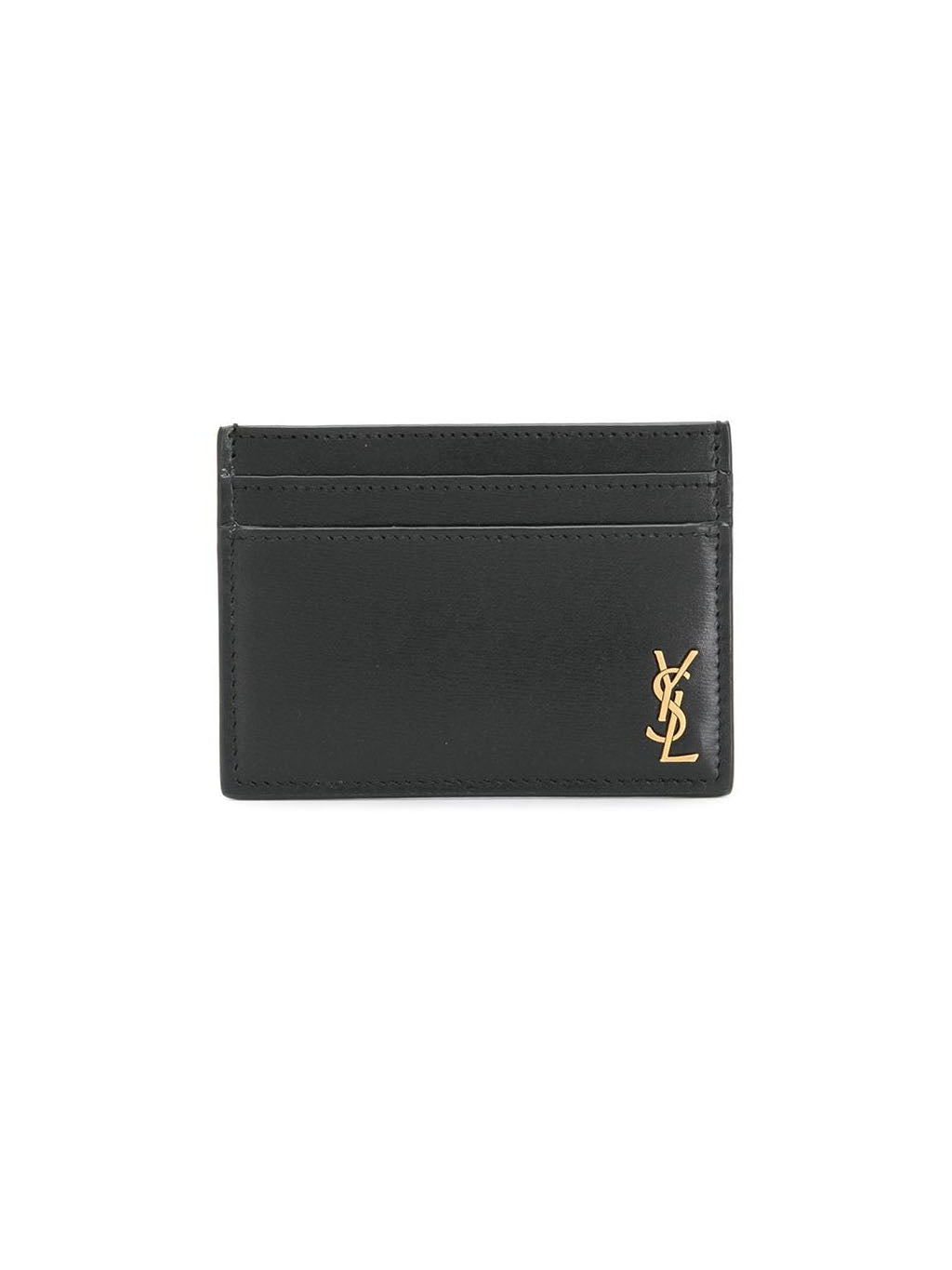 Black Logo Credit Card Holder
