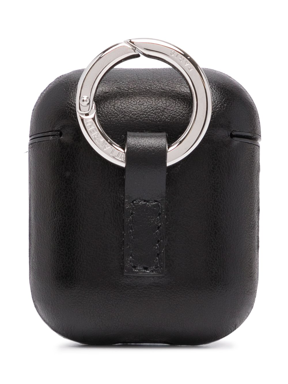 Black Airpod Case With Ring