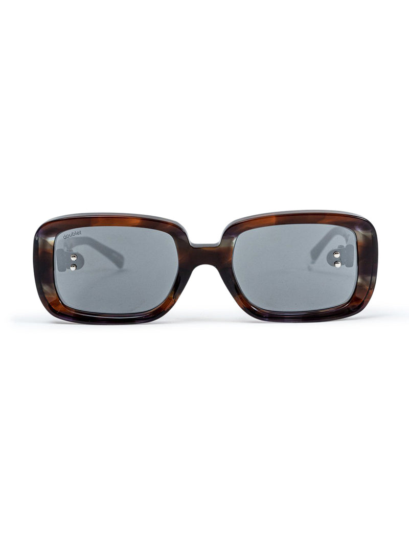 Multi Square Flame Sunglasses