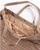 Tan and Orange Wool Big Gunclub Check Carry All Tote thumbnail 3
