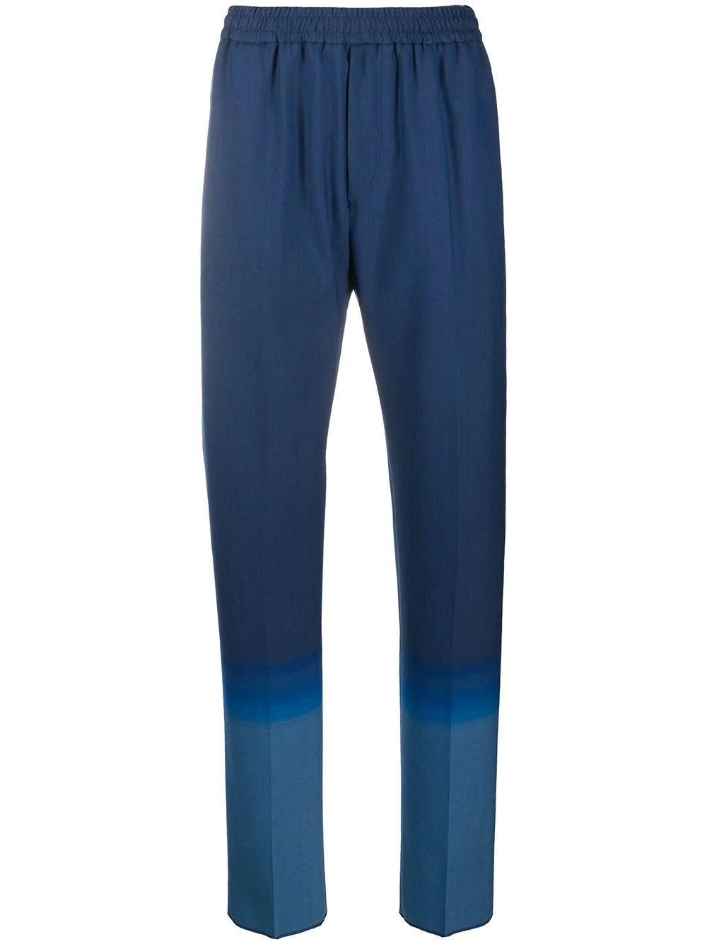 Blue Gradient Formal Jogger Pants