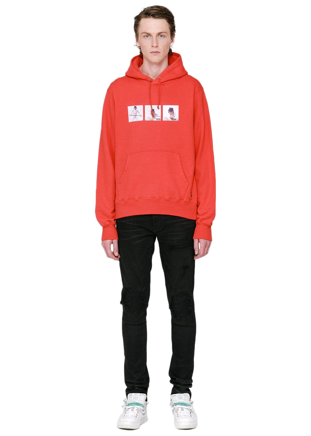 Red A Clockwork Orange Alex Frame Hoodie