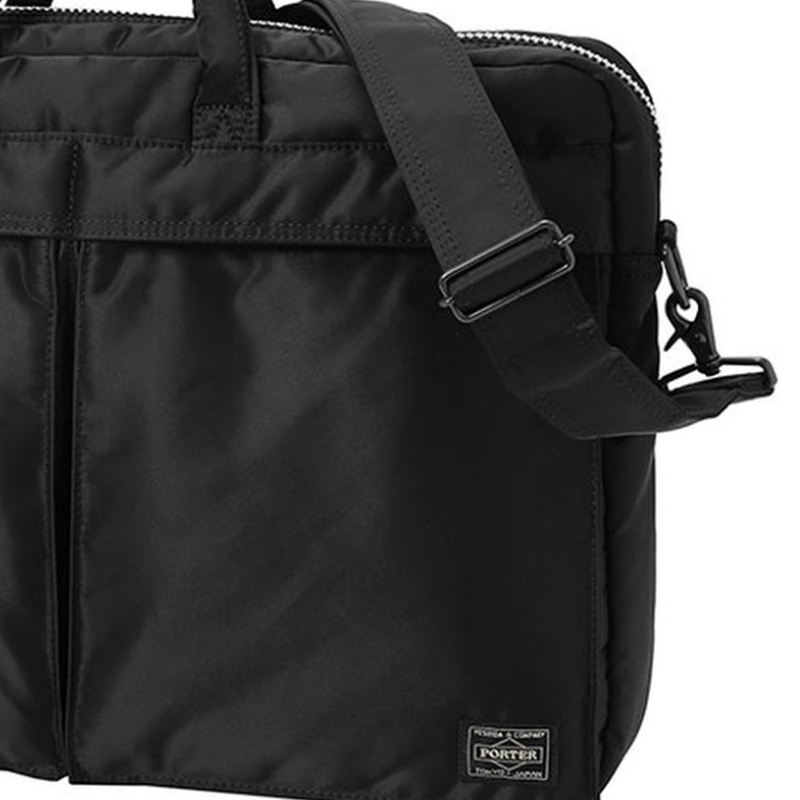 Black or Green Tanker 2Way Briefcase (S) Bag
