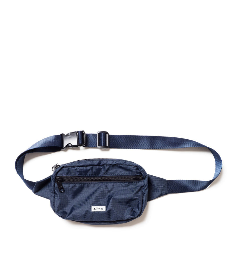 Navy Nylon Waist Bag