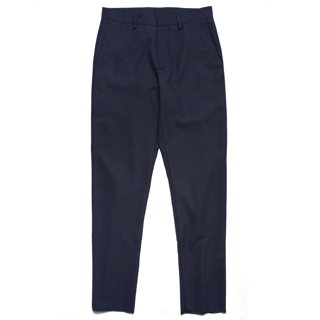Navy Cinched Trouser