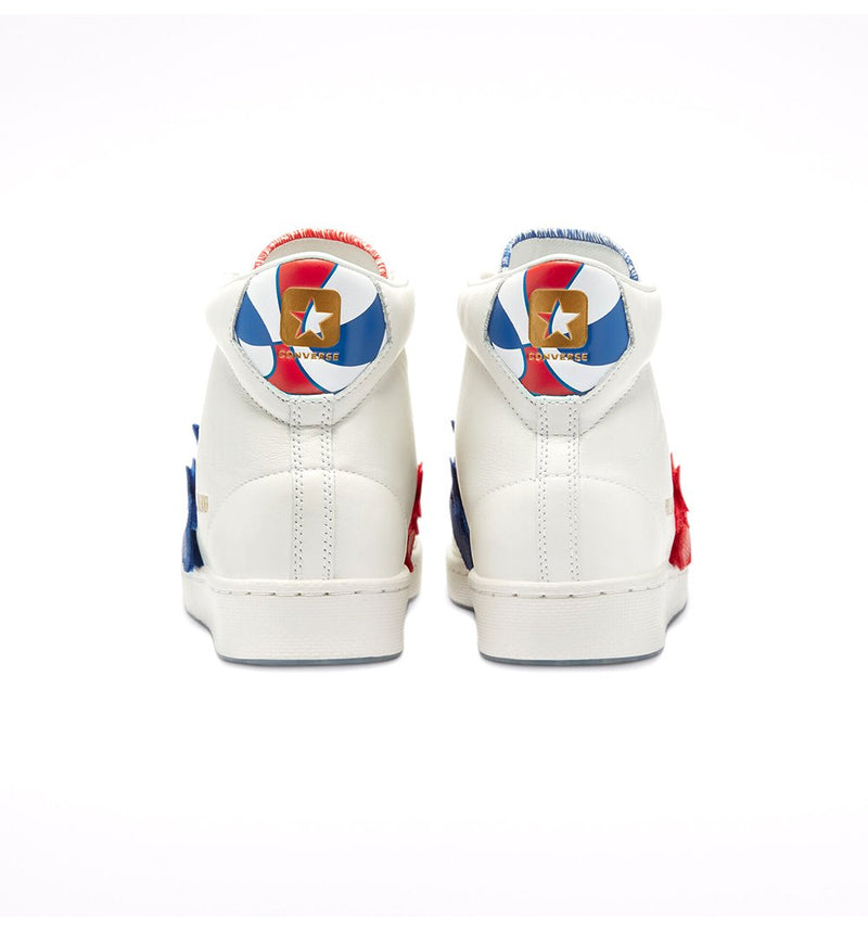 Multi Color Pro Leather Hi The Birth of Flight Sneakers