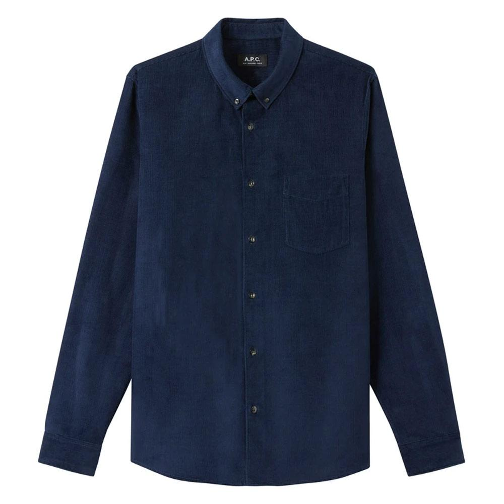 Navy Blue Serge Shirt