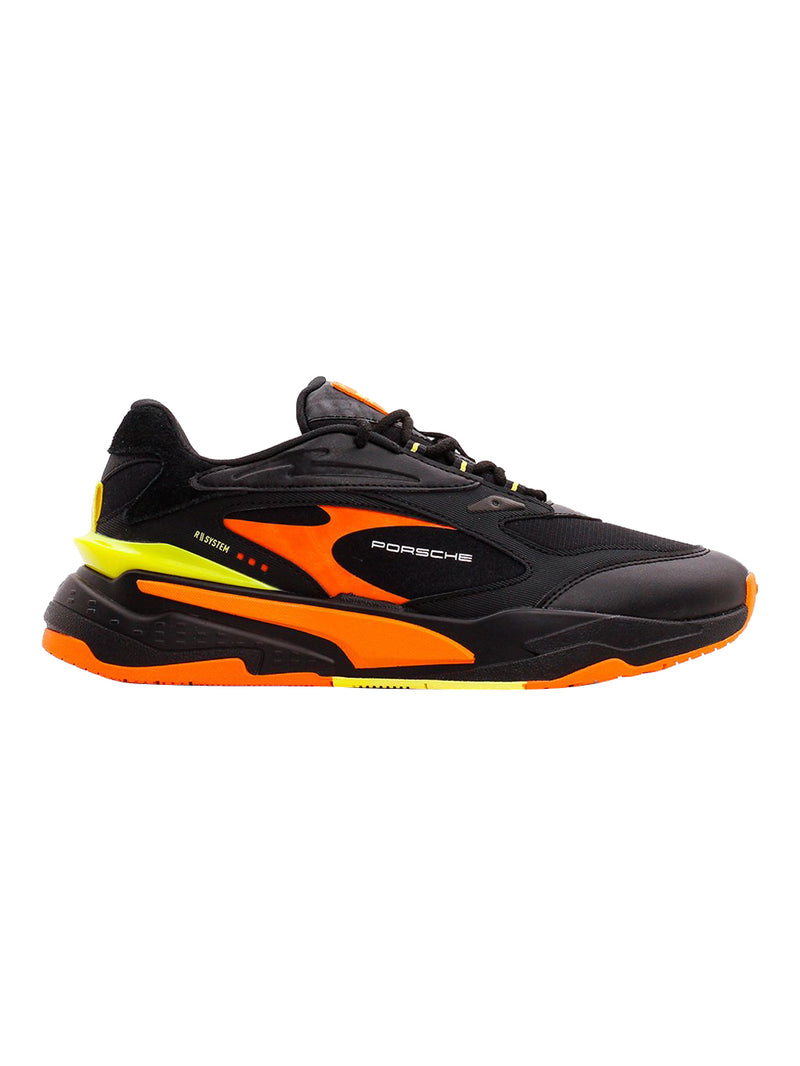 Black Celandine Carrot Porsche Legacy RS-Fast Motorsport Shoes