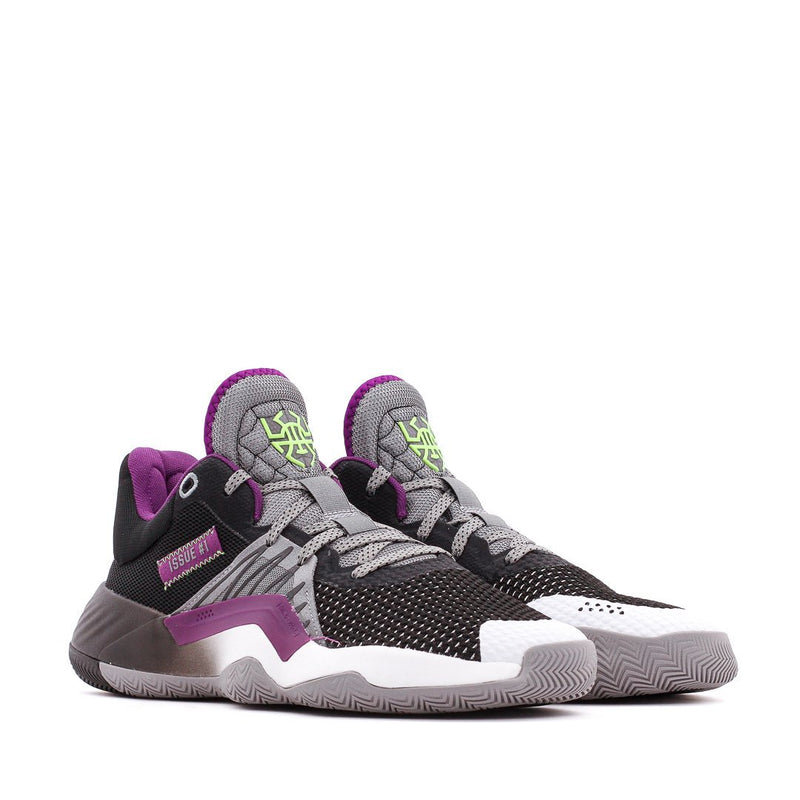 Grey & Purple Basketball D.O.N. Donovan Mitchell Issue 1 Joker Sneakers