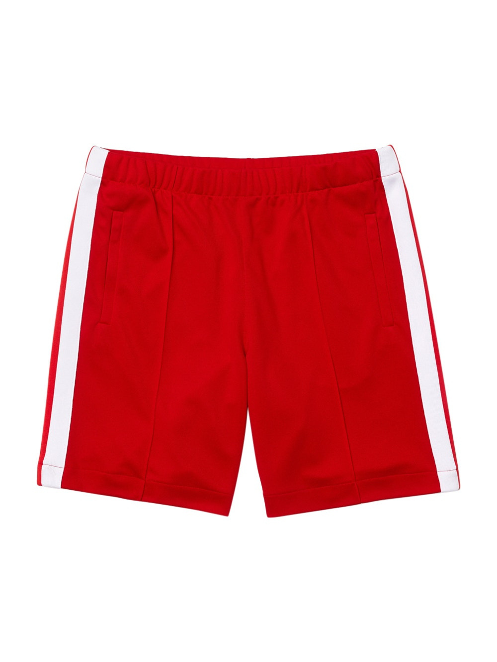 Red White x Ricky Regal Contrast Bands Piqué Shorts