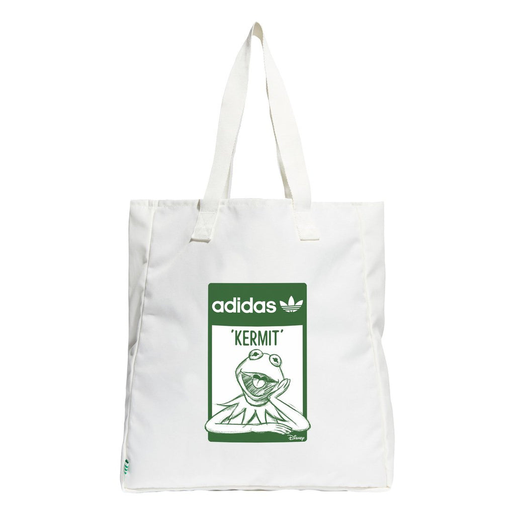 White  & Green Kermit Tote Bag