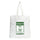 White  & Green Kermit Tote Bag thumbnail 1