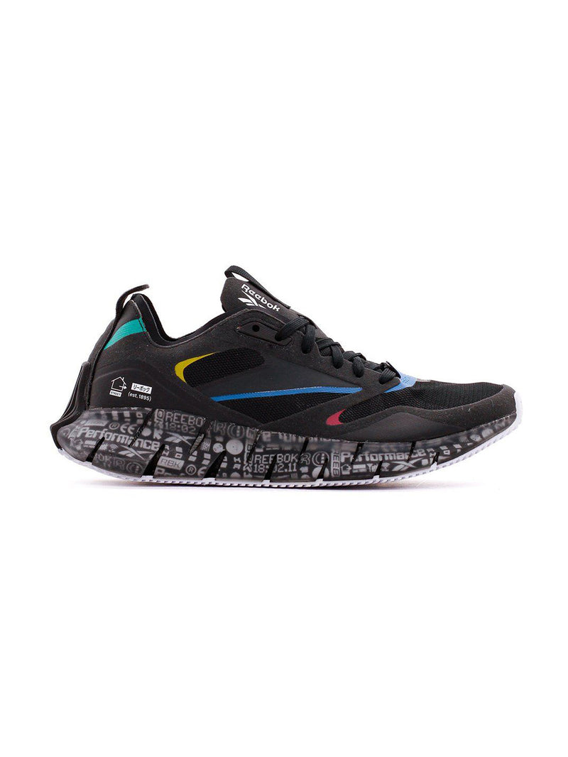 Black ZIG Kinetica Horizon Sneakers