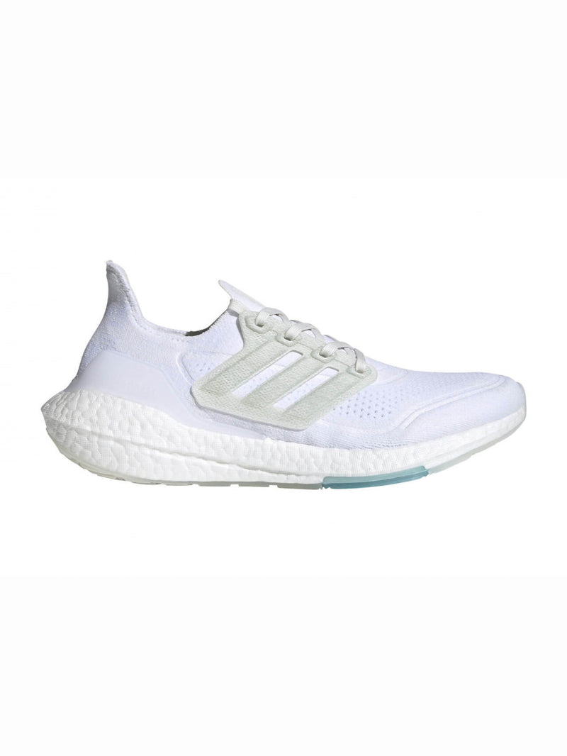 Non Dye White Parley x Adidas Ultra Boost 21 Sneakers