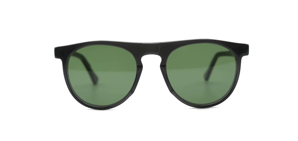 Grey & Green Otis Smoke Sunglasses